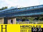 Video of Hercules Access Scaffolding