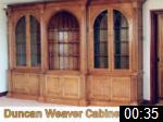 Video of Duncan Weaver Cabinet Maker