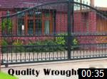 Video of QUALITY WROUGHT IRON
