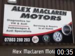 Video of Alex MacLaren Motors