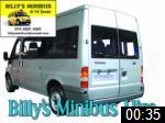 Video of Billy's Minibus Hire