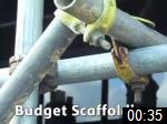 Video of Budget Scaffolding