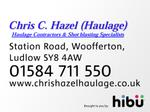 Video of Chris C. Hazel (Blasting Services)