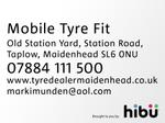 Video of Mobile Tyre Fit