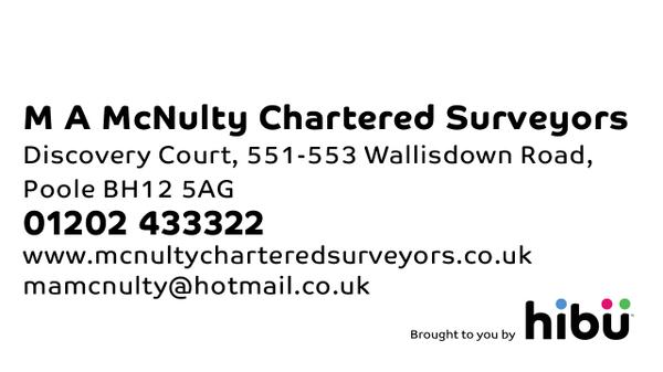 M A McNulty Chartered Surveyors Poole