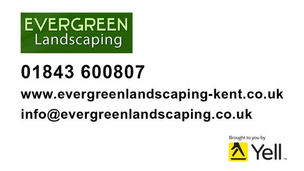 evergreen landscape broadstairs landscapers yell